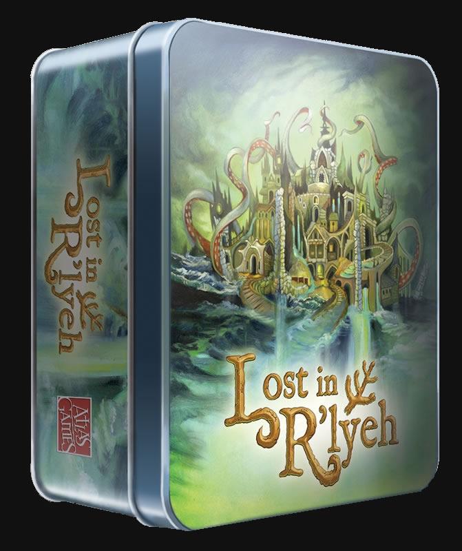 Lost in R'lyeh - Kartenspiel (Englisch)