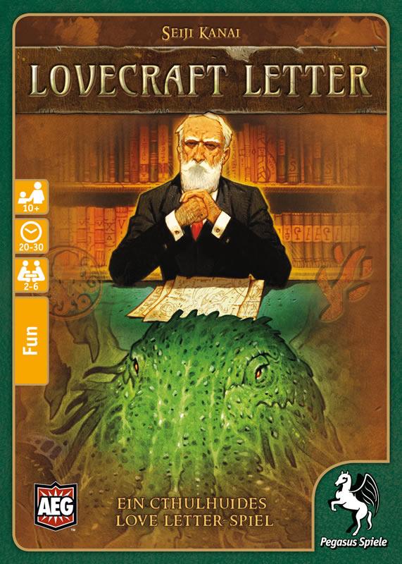Lovecraft Letter - Kartenspiel (deutsche Ausgabe)