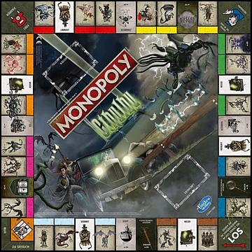 Monopoly Cthulhu Spielbrett
