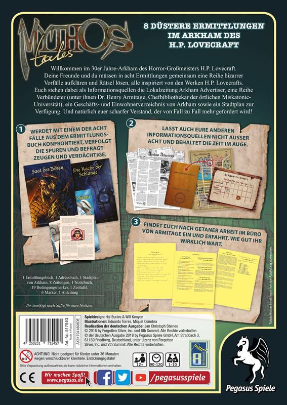Mythos Tales - Cover Rückseite