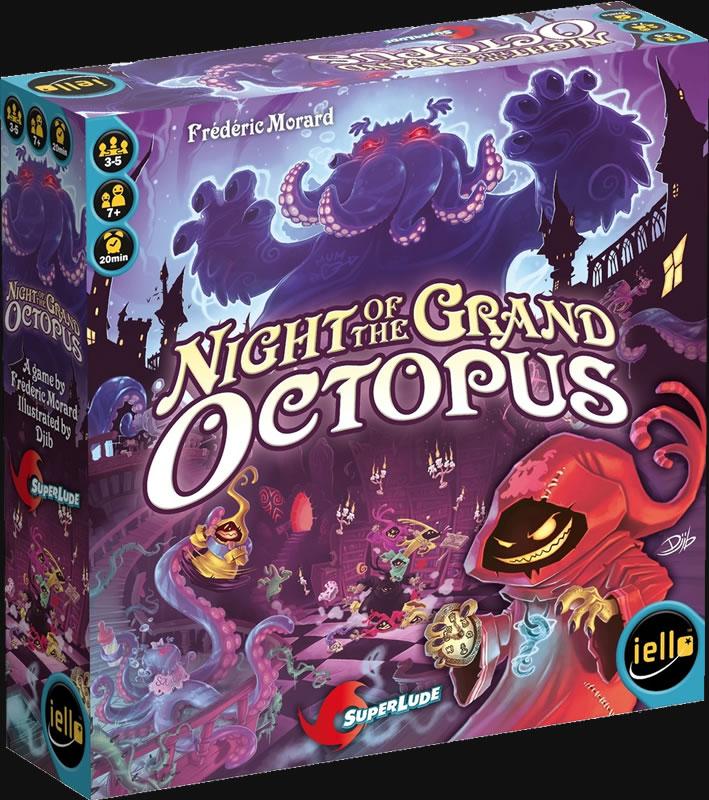 Night of the Grand Octopus - Brettspiel (Englisch)