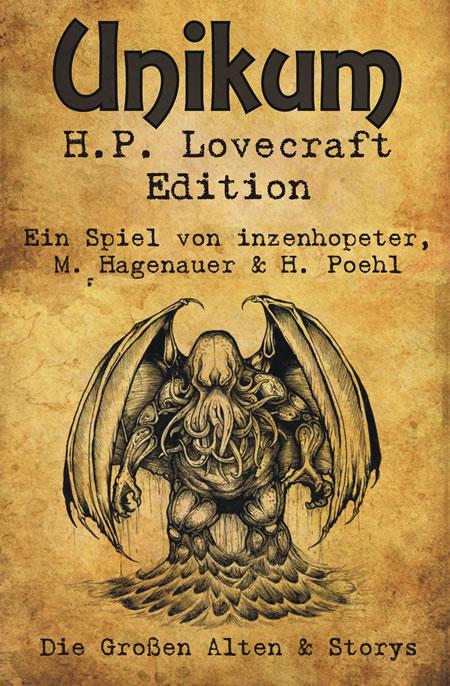 Unikum - H.P. Lovecraft Edition  - SPHINX NEUHEIT 2014