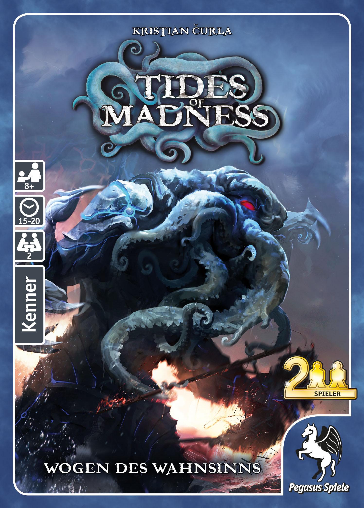 Tides of Madness: Wogen des Wahnsinn (Kartenspiel)
