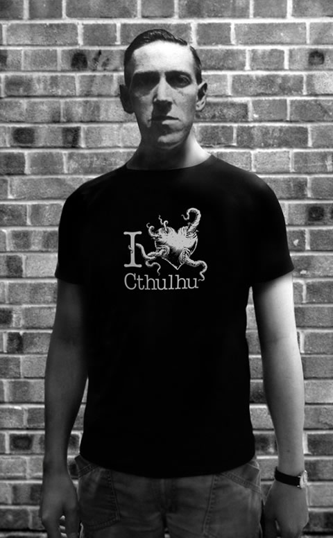 I love Cthulhu - T-Shirt (XL) für Männer