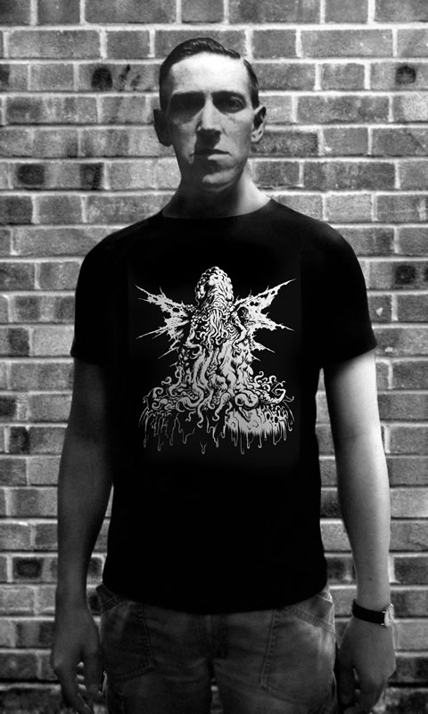 Rotten Cthulhu - T-Shirt (L) für Männer