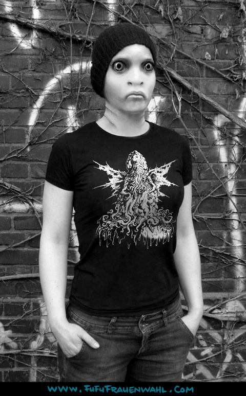 Rotten Cthulhu - T-Shirt (M) für Frauen