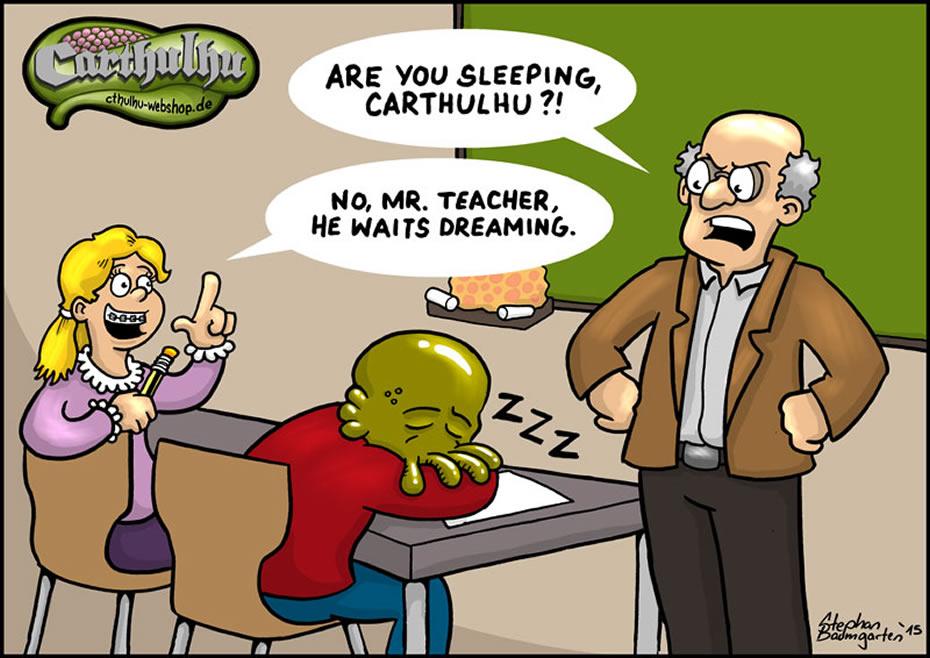 Carthulhu: He waits dreaming