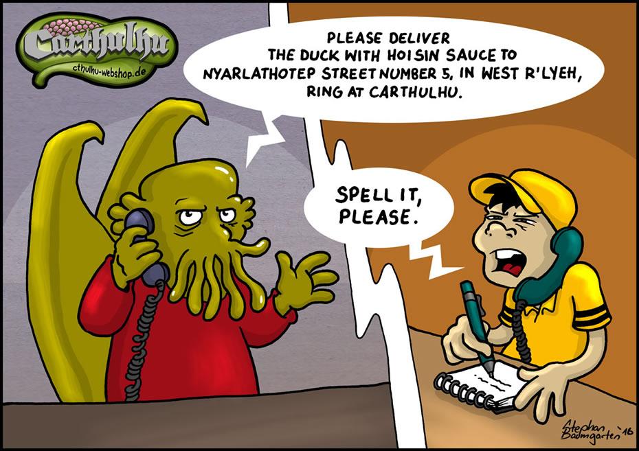 Carthulhu - Spell it, please