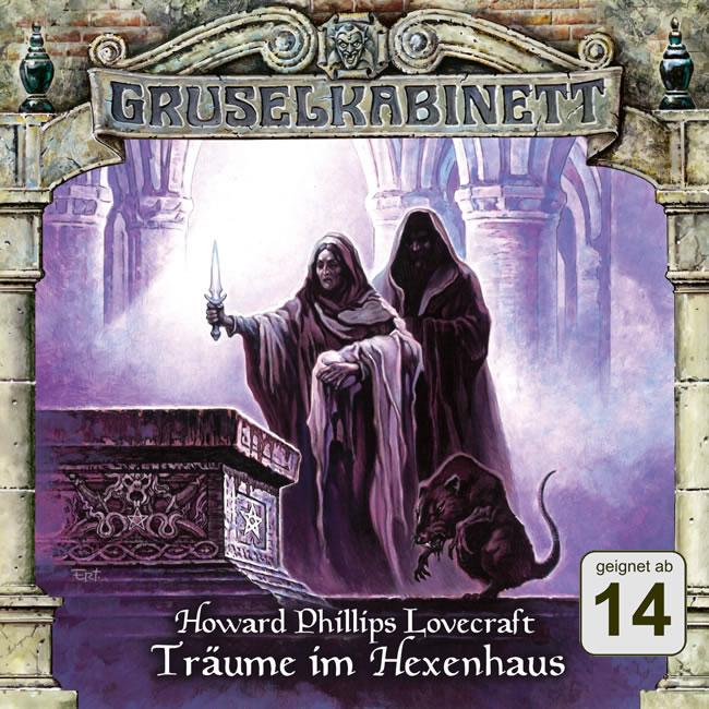 H.P. Lovecraft: Träume im Hexenhaus (1 CD) - Gruselkabinett 90