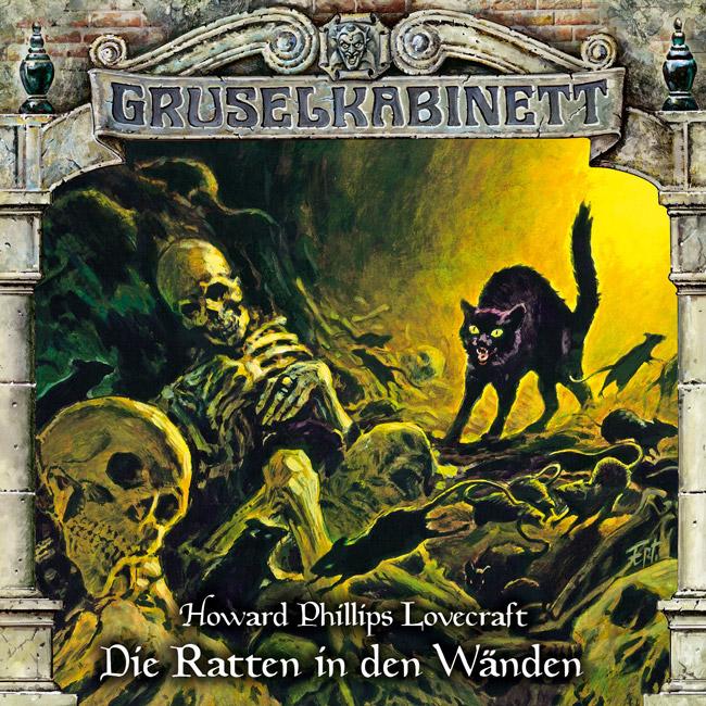 H.P. Lovecraft: Die Ratten in den Wänden (Gruselkabinett 138)