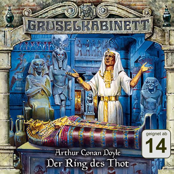 Arthur Conan Doyle: Der Ring des Thot (1 CD) - Gruselkabinett 61