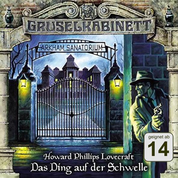 H.P. Lovecraft: Das Ding auf der Schwelle (1 CD) - Gruselkabinett 78