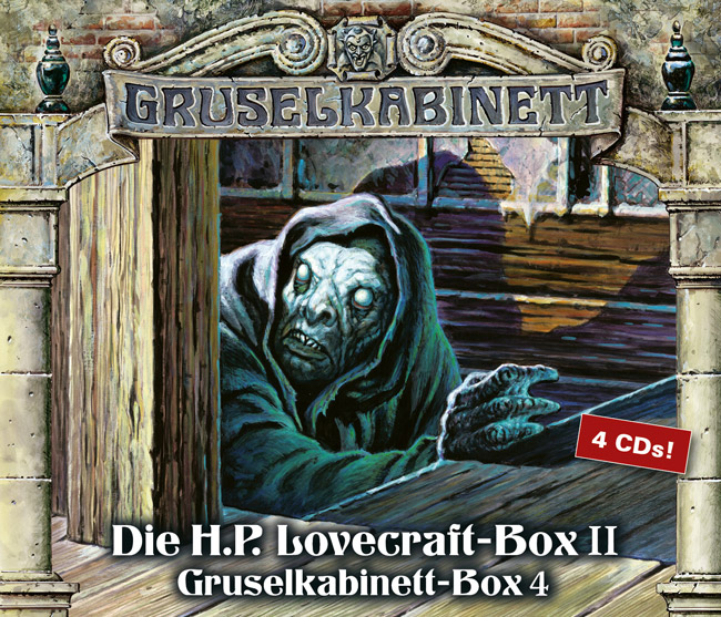 Die H.P. Lovecraft-Box 2 (Gruselkabinett - Box 4)