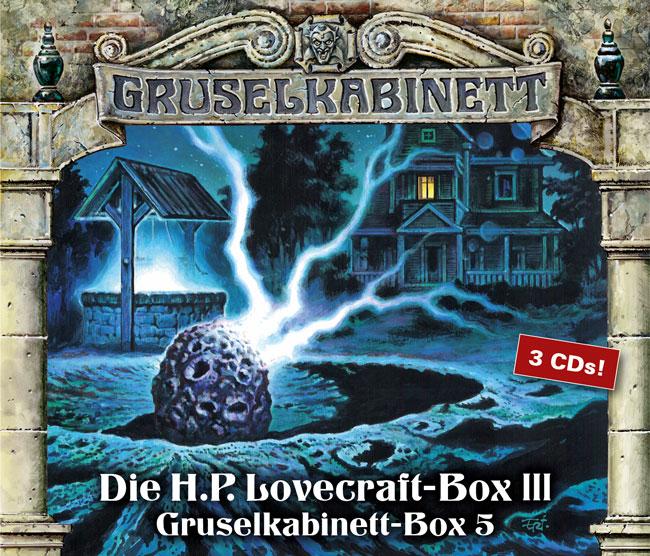 Die H.P. Lovecraft-Box 3 (Gruselkabinett - Box 5)