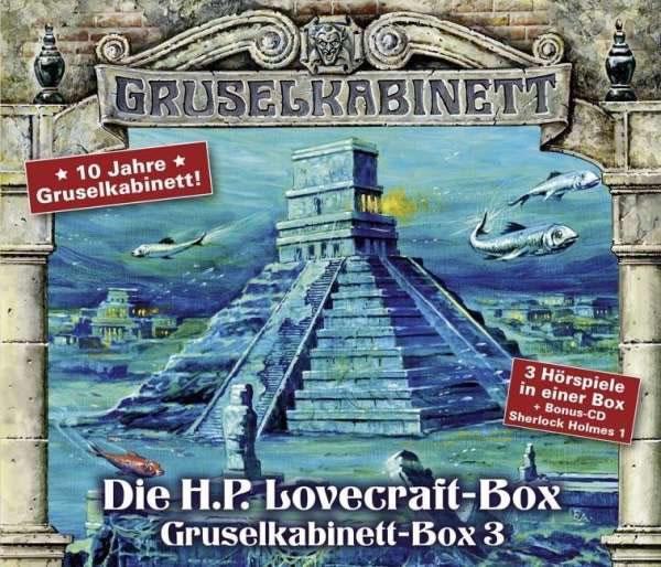 Die H.P. Lovecraft-Box 1 (Gruselkabinett - Box 3)