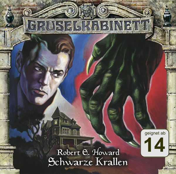 Robert E. Howard: Schwarze Krallen (1 CD) - Gruselkabinett 70