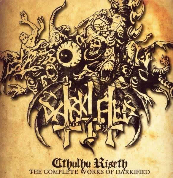 Darikfied - Cthulhu Riseth (1 CD) - The complete works of Darkified